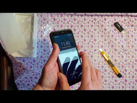 Asus Zenfone Max Pro M1 ZB602KL распаковка