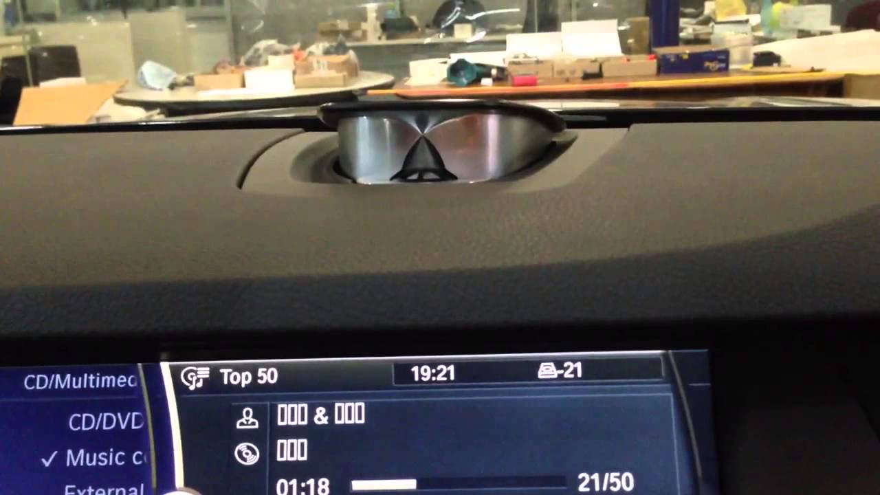 Bang Amp Olufsen Sound System In Bmw 5 Series Youtube
