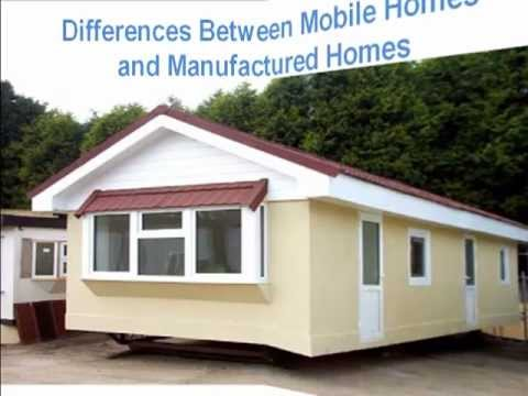 differences between mobile homes and manufactured homes youtube. Black Bedroom Furniture Sets. Home Design Ideas