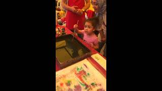Münüşün günlüğünde - ebru sanatı - eğlenceli eğitici çocuk videosu
