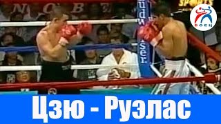 Костя Цзю против Рафаэля Руэласа. Бокс. Бой №23.
