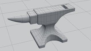 Моделирование наковальни в Blender