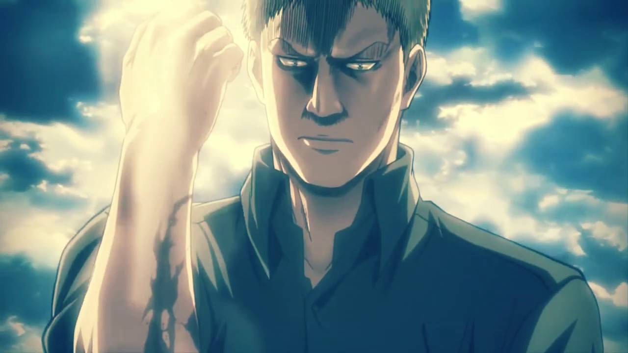 Reiner Braun The Warrior Attack On Titan Amv