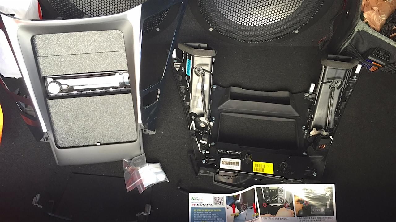 Installing An Ipad Dash Kit In A Hyundai Sonata