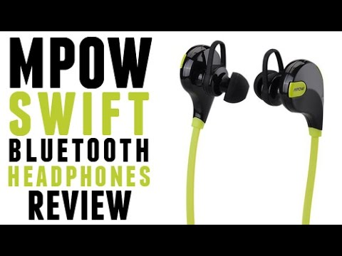 Mpow Swift Bluetooth 4.0 Wireless Headphones Review / Unboxing 2015