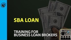 SBA Loan Training for Business Loan Brokers