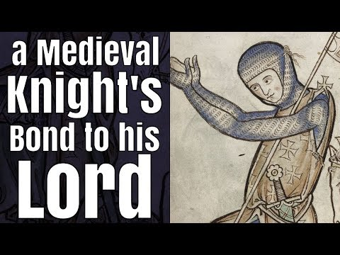 A Medieval Knight's Bond to his Lord