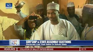 Electorate Cast Their Ballot In Sokoto State