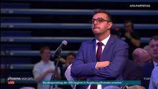AfD-Parteitag: Debatte zur Tagesordnung am 30.06.2018