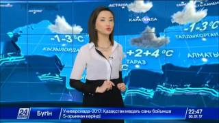 Прогноз погоды на 31 января