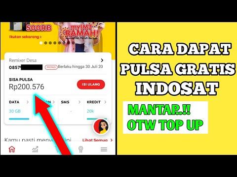 💎Cara Dapat Pulsa Gratis Indosat Ooredoo !!