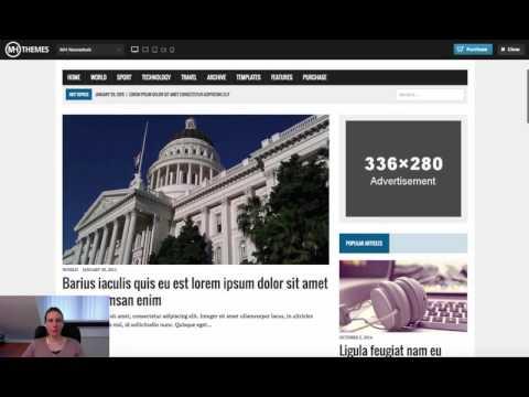 WordPress Theme MH Newsdesk Video Anleitung Teil 2