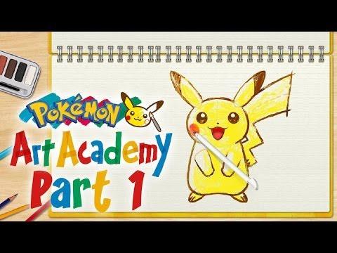 Pokémon Art Academy - Part 1 - Let's Play [GER]