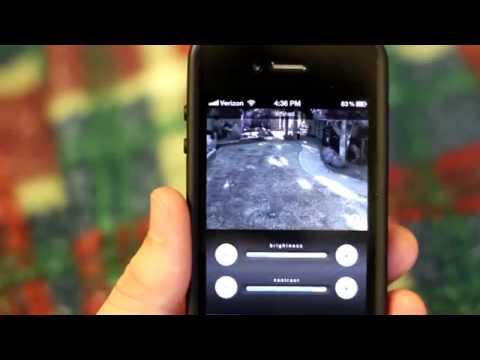 Demonstration af Foscam Surveillance Pro App flv