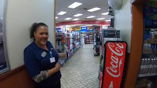 November 14, 2018/1357 Shower and Bean to cup coffee Pilot truck stop