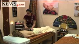Видеоурок тайского массажа с горячими камнями от NEWS.am STYLE