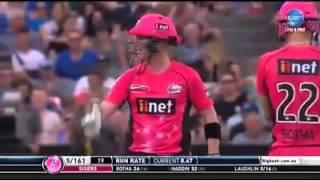 50 runs in 12 balls best finishing match in bbl matches