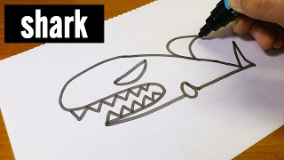 Very Easy !  How to Draw Cute Doodle Using Letters