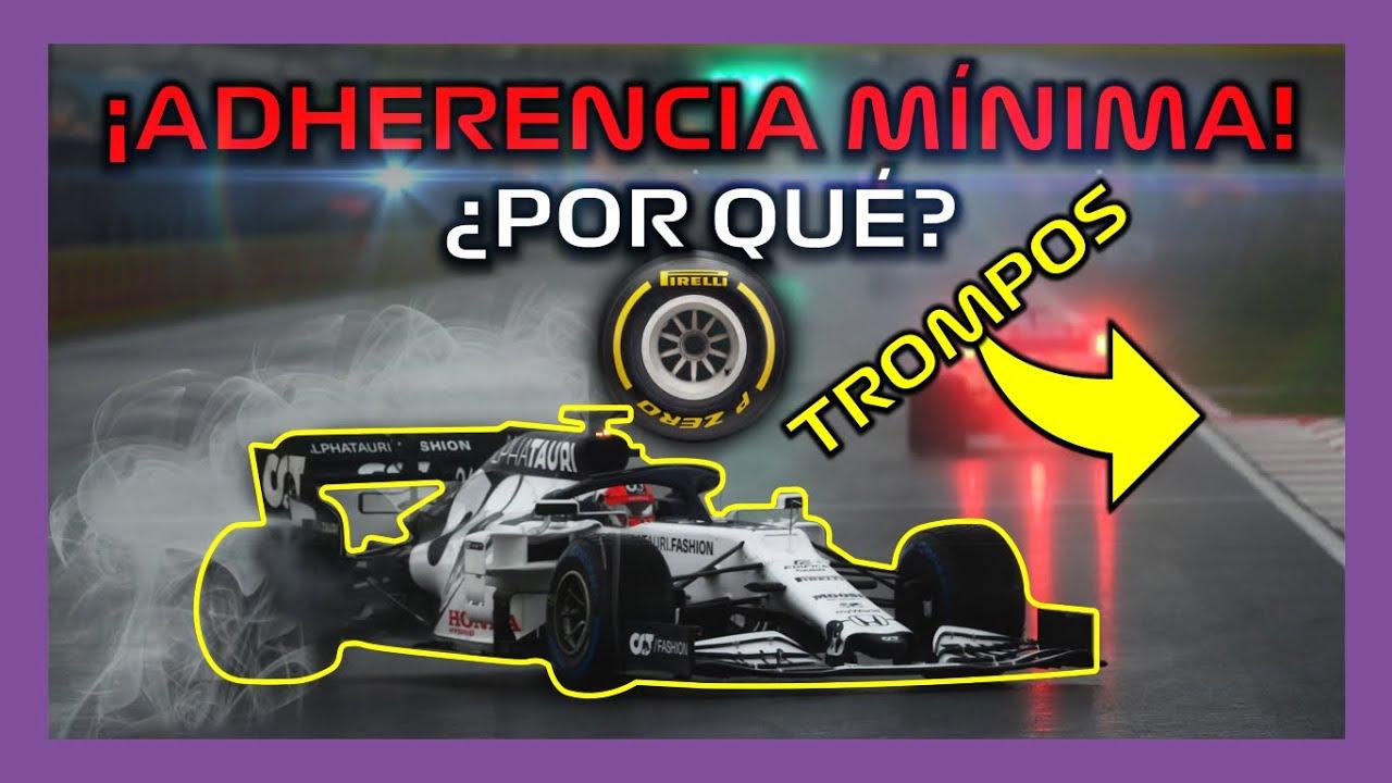 ¿Por Qué Tantos TROMPOS? 💥 NEUMÁTICOS y ASFALTO GP TURQUÍA 🚨 EXPLICADO Formula 1 2020   F1 PIRELLI