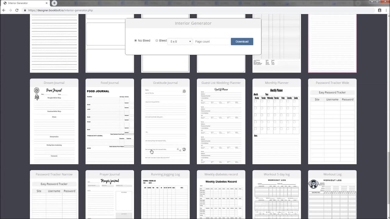 Book Bolt Interior Generator - Free KDP Book Interiors - YouTube