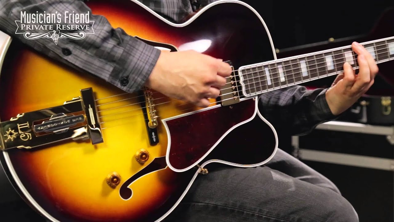 gibson custom wes montgomery guitar vintage su with loop