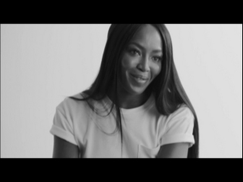 Generation Gap: Naomi Campbell in the Pocket Tee