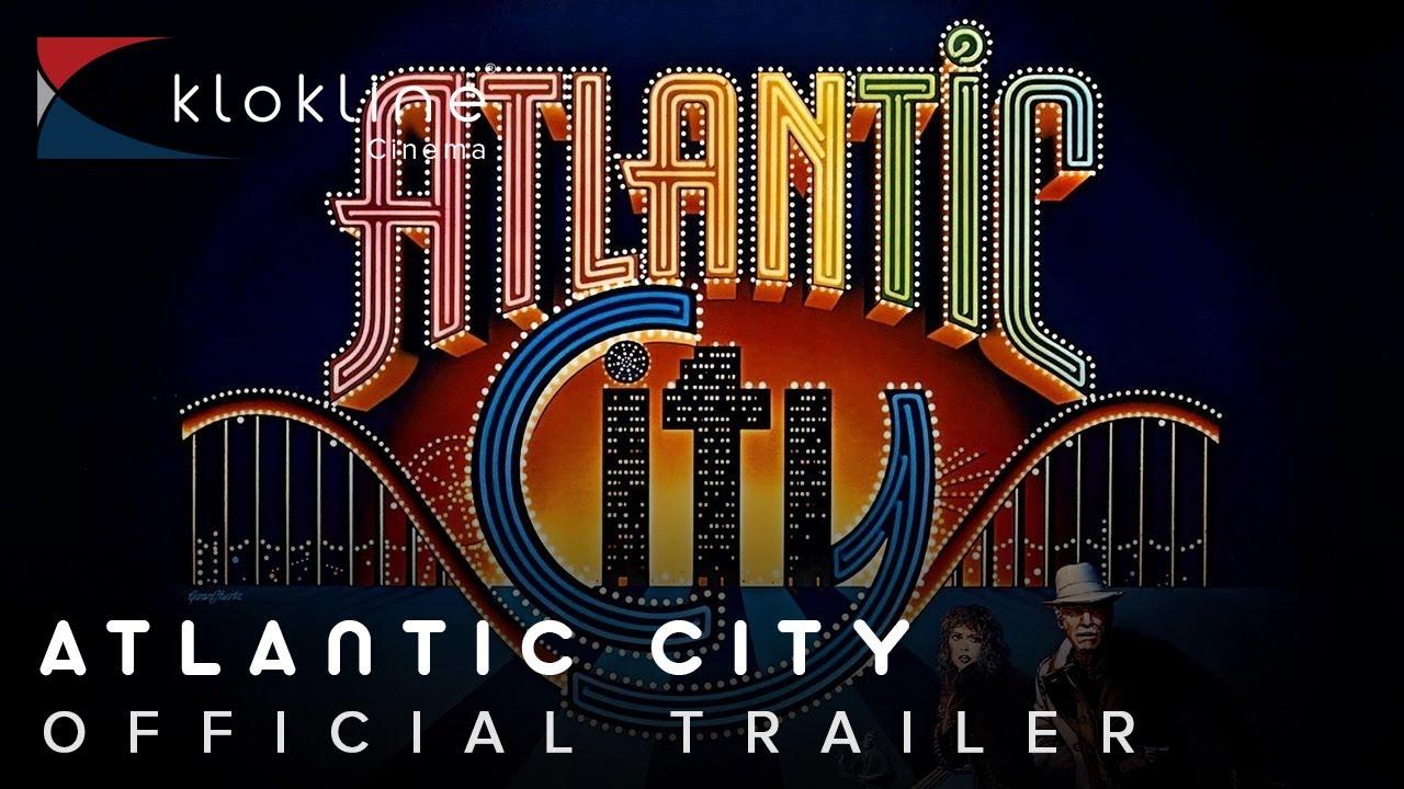 Atlantic City 1980 Vintage Movie Poster ~ Burt Lancaster