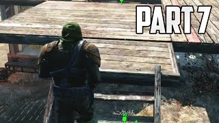 "Fallout 4 Walkthrough - Part 7 ""BUILDING MY CASTLE"" (Let"