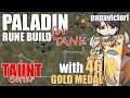 Ragnarok Mobile : Paladin Rune Build for Tank Tips and Trick with Taunt Skill