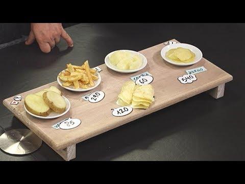 cuantas calorias tiene patata hervida