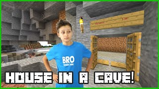 Making My House in a Cave!
