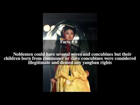 Society in the Joseon Dynasty Top # 9 Facts
