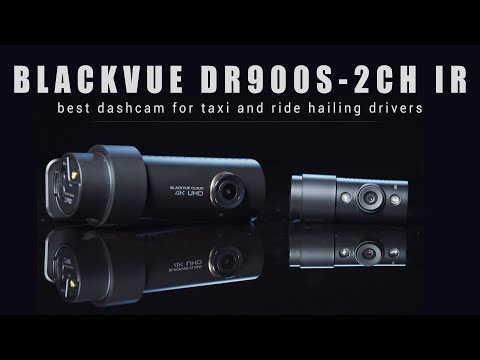 BlackVue DR900S-2CH IR 4K Taxi Dash Cam Promo Video
