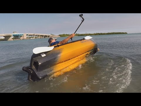 How Stable Is The 106 Sportsman Powered By Minn Kota, Testing My Old Town Kayak For Stability