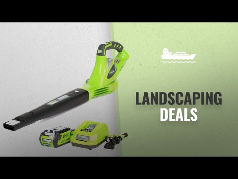 Landscaping Tools Gift Ideas: Greenworks 40V 150 MPH Variable Speed Cordless Blower, 2.0 AH Battery from YouTube · Duration:  2 minutes 40 seconds