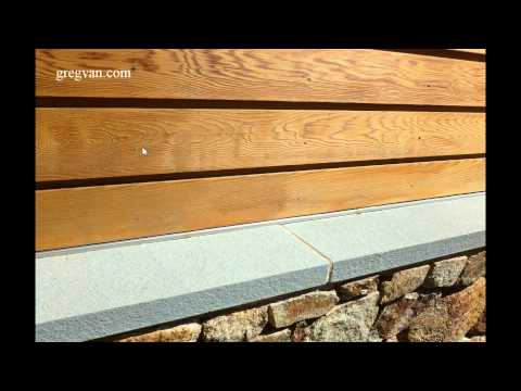 Watch This Video Before Installing Clear Wood Siding - Home Building Tips