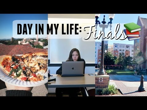 Day in my life: last day of finals!
