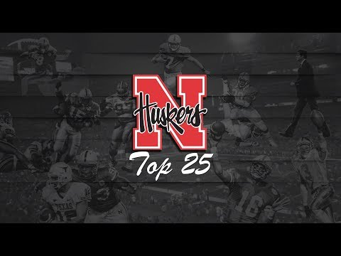Top 25 Greatest Plays in Nebraska Football History | All Time Husker Countdown | Adam Carriker