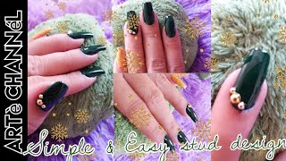 Simple and Easy nail art design(philippines)