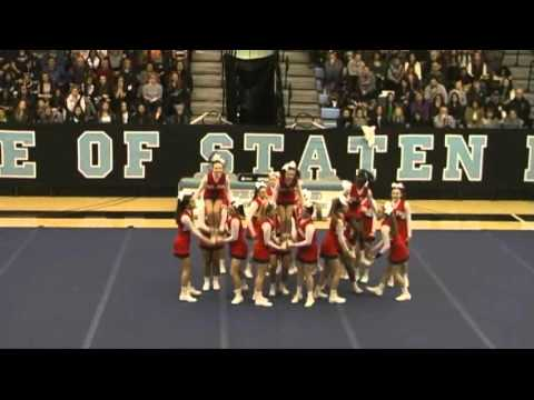 2016 CHS Cheer Competition at College of Staten Island compressed