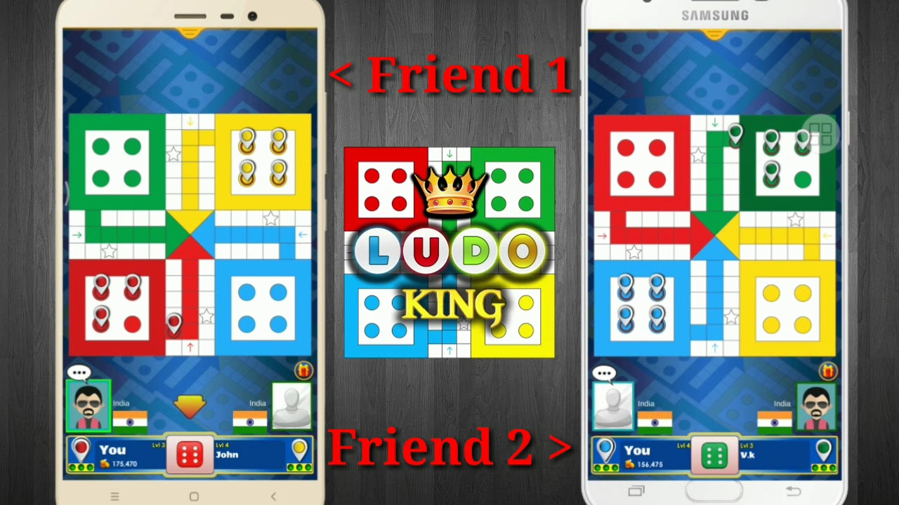 How to play ludo king with friend online join room for Create your room online