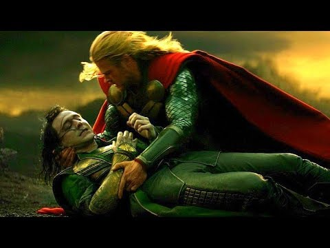 Loki's Death Scene - Thor and Loki vs Kurse & Dark Elves - Thor: The Dark World (2013) Movie CLIP HD