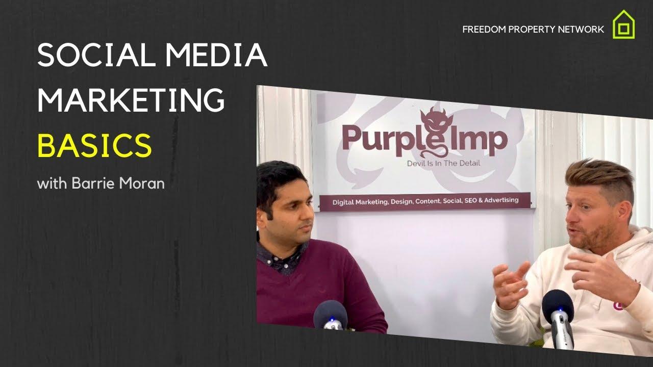 Social Media Marketing Basics with Barrie Moran