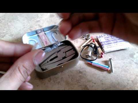 Extra mini survival altoids smalls tin