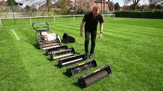 Reel Mower - Swardman lawn mower prototype