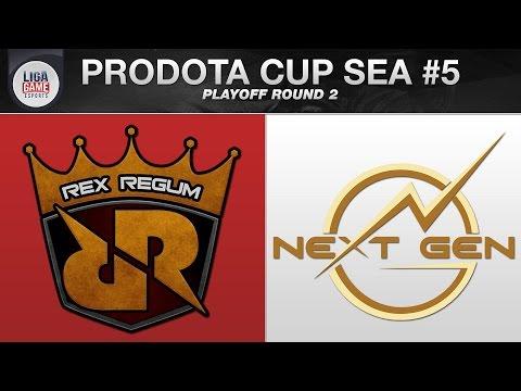 DOTA 2 LIVE :  Rex Regum Qeon (Indonesia) VS Next Gen (Vietnam) - Prodota Cup Season 5