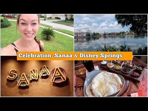 Celebration, Lunch at Sanaa at Animal Kingdom Lodge and Disney Springs   l   aclaireytale