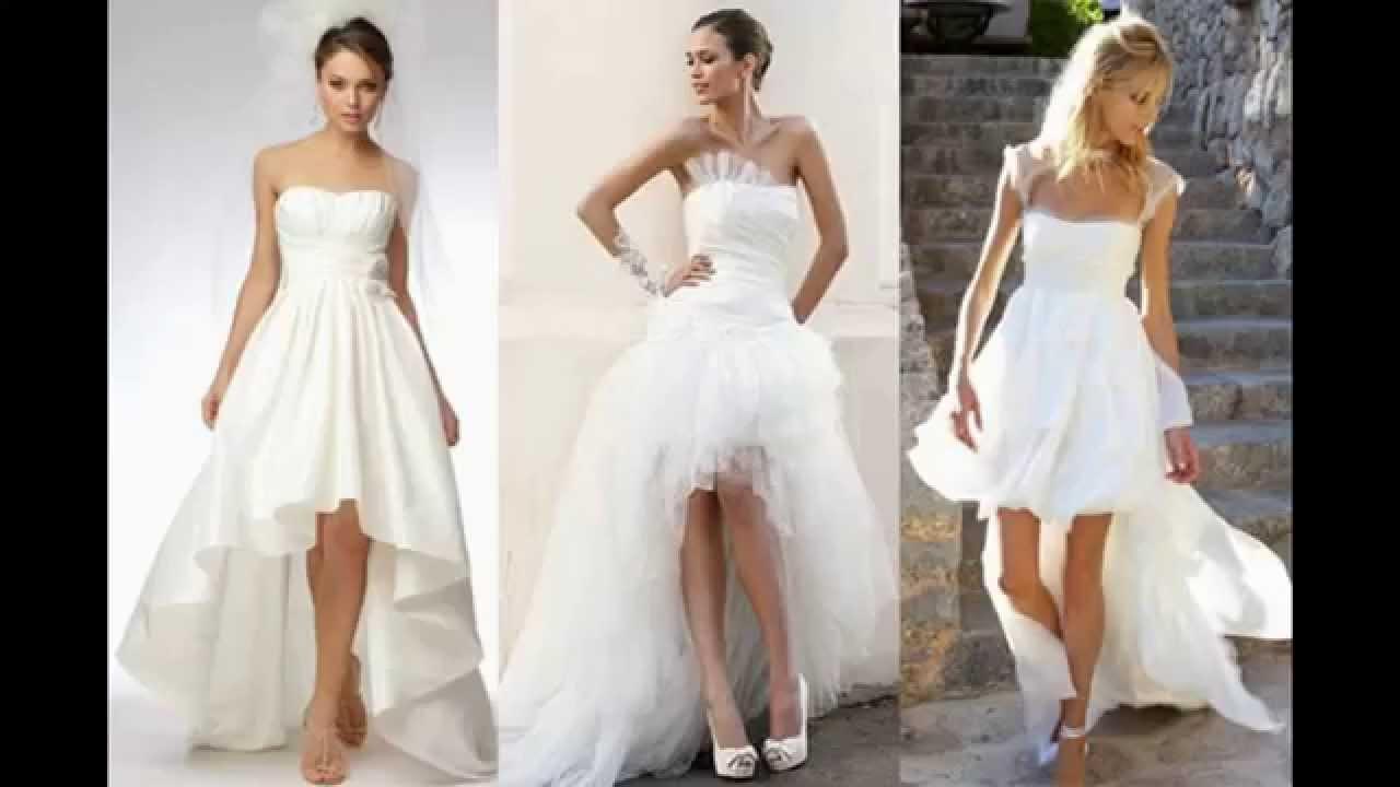 Vestidos Para Noiva Curto Na Frente E Longo Atrás
