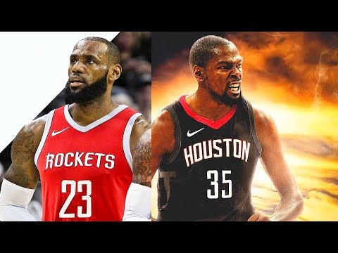 LeBron James Joins Houston Rockets With Kevin Durant (Parody)