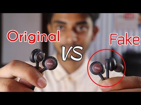 Samsung AKG Earphones Original Vs Fake    AKG Earphone Buy From Amazon, Flipkart Or Paytm??